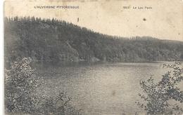 L'AUVERGNE PITTORESQUE - 1863. LE LAC PAVIN . AFFR AU VERSO . 2 SCANES - France