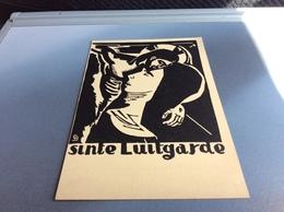 Sinte Luitgarde 1939 Uitgave Caritas Lino Van Gérard Baksteen - Santos