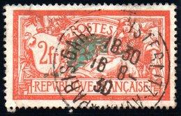 Type MERSON - 1900: 2F Violet Et Jaune - N° 122 Obli. - Oblitérés