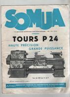 Publicité SOMUA Tours P24 AFMO Paris - Sciences & Technique