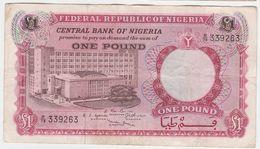 Nigeria P 8 - 1 Pound 1967 - VF - Nigeria