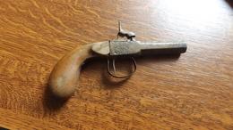 Pistolet Ancienne Sortie Grenier Fonctionne - Armes Neutralisées