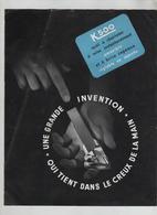 Publicité  K 500 Outil à Charioter - Sciences & Technique