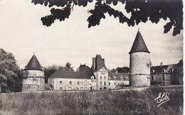 CANISY : CPSM.P.F. CRANTEE DE 1955.LE CHATEAU VUE D ENSEMBLE.N°3.B.ETAT.PETIT PRIX.COMPAREZ!!! - France