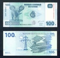CONGO DR  -  2013  100 Francs  UNC Banknote - Democratic Republic Of The Congo & Zaire
