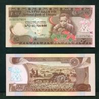 ETHIOPIA  -  2017  10 Birr  UNC Banknote - Etiopía