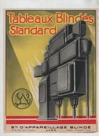 Publicité  Tableaux Blindés Standard Lyon SAB Prost - Unclassified