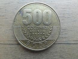 Costa Rica  500 Colones  2005  Km 239 - Costa Rica
