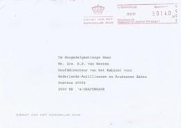 """Nederland Netherlands 1997 Den Haag Royal Family Koninklijk Huis Meter Pitney Bowes-GB """"5349"""" Cover - Marcofilie - EMA (Print Machine)"""