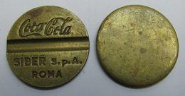 AC - COCA COLA SIBER S. P. A ROMA, ITALY TOKEN - JETON - Professionals / Firms