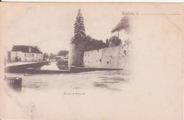 CPA - SAULIEU Tour D'auxois - Saulieu
