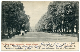 LONDON : KENSINGTON GARDENS - THE LONG WALK - London Suburbs