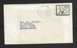 S.Africa, 15c Lamb, Perf 12.5 On Domestic Cover DURBAN 21 11.74 C.d.s. &  USE POSTAL CODES Slogan - South Africa (1961-...)