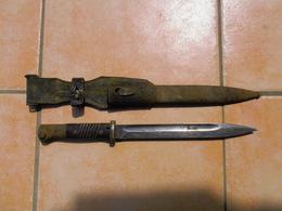 Baionnette Allemande Mauser Carl Eickhorn 1939 Compléte - Knives/Swords