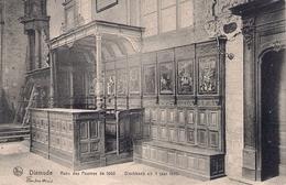 DIXMUDE BANC DE PAUVRE De 1660 Seuvenierkaart 1912 Editeur OSCAR DEREEPERE Zeldzaam Kaart Zogoed Als Nieuw. - Diksmuide