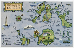 MAP : ENGLAND - THE ISLES OF SCILLY - Maps
