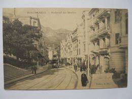 Monte-Carlo- Le Boulevard Des Moulins - Monte-Carlo