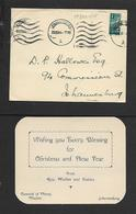 S.A.frica Convent Of Mercy, Johannesburg Christmas & New Year Card, JOHANNESBURG  19 XII 44 - South Africa (...-1961)