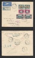 S.A.frica 1939 Vorrtrekker Set On FDC PRETORIA > SWAKOPMUND; Unclaimed WINDHOEK R.L.S - South Africa (...-1961)