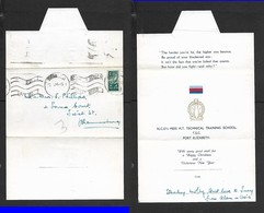 S.Africa 1944 . Xmas Card From NCOs Mess MT TECHNICAL TARING SCHOOL TSC PORT ELIZABETH, Posted PRETORIA - South Africa (...-1961)