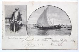 Tiputibo   -   Sailing Dhow - Tanzanie