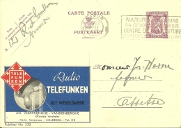 België Publibel 335 / Maldegem  Radio Telefunken / 1939 Namur >> Assesse - Stamped Stationery