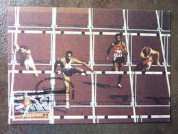 1985 GRECE CARTE MAXIMUM ATHENES ATHLETICS Parfait état - Maximum Cards & Covers