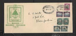 S.Africa 1951 Stamp Exhibition Bloemfontein-9. V 51oval Date Stamp - South Africa (...-1961)