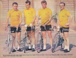 CYCLISME: PHOTO WALKOWIAK, BOBET, ANQUETIL, ROBIC, TOUR DE FRANCE 1956, 1953-1955, 1957-1964, 1947 COUPURE REVUE (1971) - Cyclisme