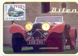 SET CARS  MAXIMUM SVERIGE BREV 5 PIECES 1997 (MAGG180054-58) - Cartoline Maximum