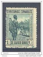 GUI202-LA466TTOM.Guinee .GUINEA   ESPAÑOLA..TIPOS DIVERSOS 1931  (Ed 202**) Sin Charnela. - Transporte