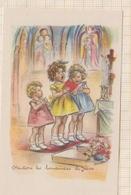 """8AK887 IMAGE RELIGIEUSE PIEUSE GERMAINE BOURET """"chantons Les Louanges De Jesus""""  2 Scans - Devotieprenten"""