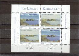 Clm 11 - TAAF - PO 628/629** De 2012 -  2 Paires Sur Feuillet - Ile Longue KERGUELEN. - Franse Zuidelijke En Antarctische Gebieden (TAAF)