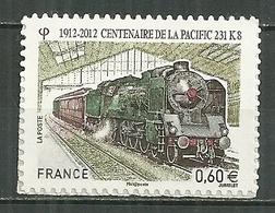 FRANCE MNH ** Adhésif Autocollant  711 (4655) Train Transport Centenaire De La Pacific 231 K 8 Locomotive à Vapeur - France