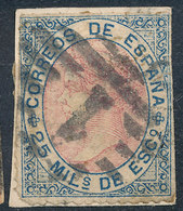 Stamp Spain 1867 25m  Used Lot17 - 1850-68 Royaume: Isabelle II