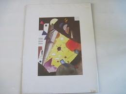 Reproduction Original Wassily KANDINSKY Tension En Hauteur 1924 ADAGP 1992 - Other Collections