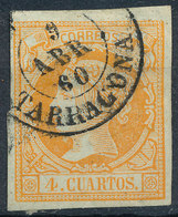 Stamp Spain 1860  Used Lot24 - 1850-68 Royaume: Isabelle II