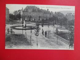 CPA 19 BRIVE PLACE DE LA LIBERTE - Brive La Gaillarde