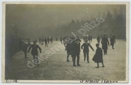 (Roubaix) Carte Photo . Patinage Au Parc De Barbieux . 1908 . - Roubaix