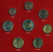 MALTA 2008 Stgl./UNC Kursmünzensatz Im DIN A 5-Folder MDM - Malta