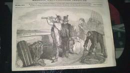 Affiche( Gravure)   - Peter Paulus BROWN était à Bord Du PAUSILIPPE - Affiches