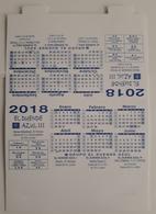 2018. CALENDARIO TAMAÑO MEDIANO. EL DUENDE AZUL. - Calendars