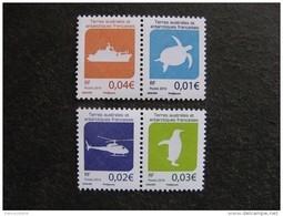 TAAF:  TB Série De 2 Paires N° 784/785 Et N° 786/787, Neufs XX. - Französische Süd- Und Antarktisgebiete (TAAF)