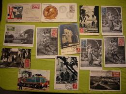 Lot De 24 Cartes Maximum 1er Jour Algérie - Maximum Cards