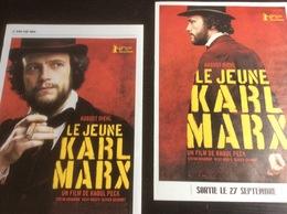 Plaquette 8 Pages : Le Jeune Karl Marx, Raoul Peck - Merchandising