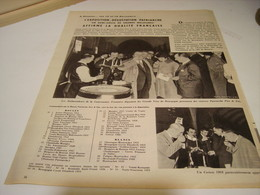 ANCIENNE PUBLICITE VIN LES  BOURGOGNES PATRIARCHE EXPO DEGUSTATION 1958 - Alcoholes