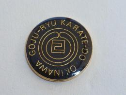Pin's KARATE-DO, OKINAWA, GOJU-RYU - Judo