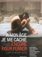Plaquette 4 Pages : À Mon âge Je Me Cache Encore Pour Fumer, Rayhana - Non Classés