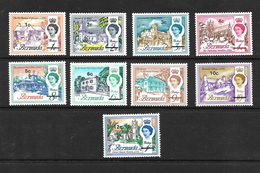 Bermuda 1970 QEII Buildings Decimal Optd To 12c On 1/- MNH (5589) - Bermuda