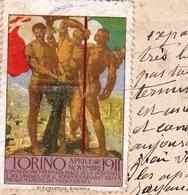 Carte Postale Torino 1912 Turin Séverac Le Château Aveyron Esposizione Internazionale Delle Industrie E Del Lavoro - 1900-44 Victor Emmanuel III